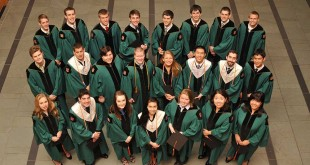 Dept. of Energy, Environmental & Chemical Engineering graduates, Brauer Hall,  May 17, 2012. Photo by Kevin Lowder